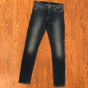Lucky Brand Dark Wash Ava Skinny Jeans Size 4